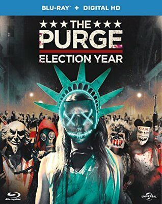 The Purge - 3-Movie Collection (Blu-ray + Digital Download) [DVD][Region 2]