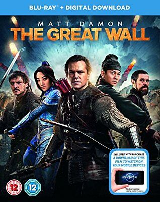 The Great Wall (+ digital download) [Blu-ray] [2017] [DVD][Region 2]