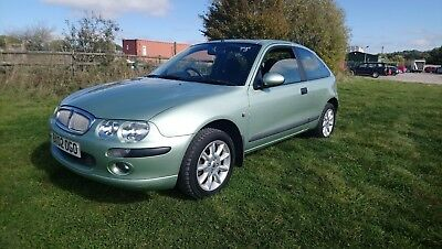 2002 Rover 25 Is 16V 1.4 Petrol 3 Dour Green Mot March 2019 Low Miles 69,000