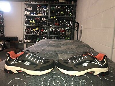Skechers Stamina Nuovo Cutback Mens Athletic Walking Shoes Size 10 EXTRA  WIDE b31c197af48