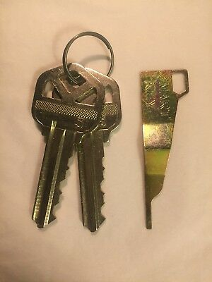 Kwikset Smart Key Rekey Kit - Rekey Tool - 2 Keys. Instructions Included.