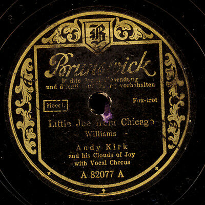 ANDY KIRK & HIS CLOUDS OF JOY  Little Joe from Chicago / Mary's idea      S7159