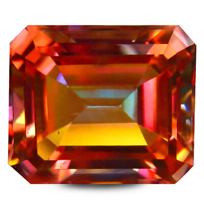 8.00 Ct AAA+ Étonnant Octogone Forme (12 10 mm) Multicolore Twilight Topaze