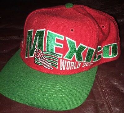 ca916561093 Vintage Mexico Snapback Apex One Usa 1994 World Cup Hat Fifa Soccer Never  Worn