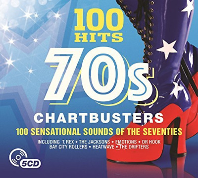 Various Artists-100 Hits - 70S Chartbusters (UK IMPORT) CD NEW