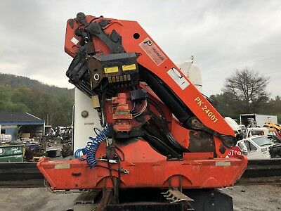 Palfinger Pk 24001 Knuckle Boom Crane; Works Perfect!!! Video Available!!!