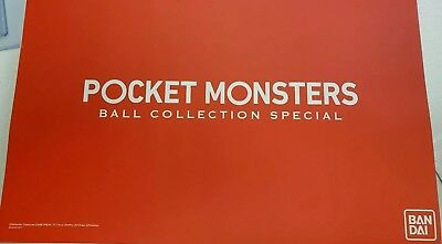 Premium Bandai Limited Pokemon Pocket Monster Ball Collection SPECIAL Gen 1and 2