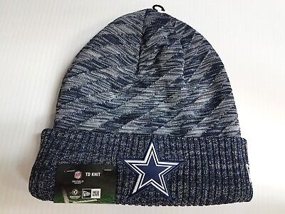 b65aa6ef1 DALLAS COWBOYS NEW Era Knit Hat 2017 On Field TD Beanie Stocking Cap ...