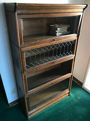 Antique LUNDSTROM Bookcase Stackable