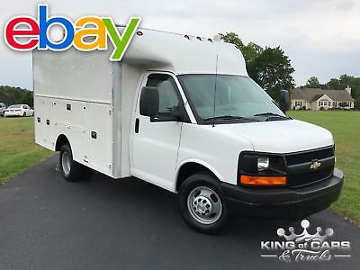 2007 Chevrolet Express 3500 DRW STEP UTILITY VAN 2007 CHEVROLET 3500 DRW SPARTAN UTILITY 6.0L V8 1-OWNER MUST SEE! 117K MILES