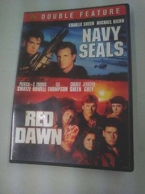 Navy Seals // Red Dawn Double Feature 2 Disks DVD