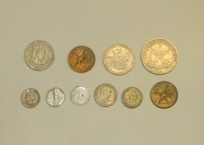 Mixed Lot of 10 PHILIPPINE Coins