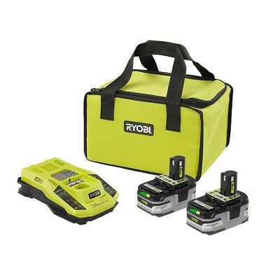 Ryobi Starter Kit 18-Volt ONE+ Lithium-Ion Rapid Charger Bag Compatible All Tool