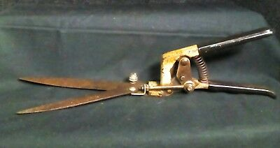 Antique Vintage Grass Clippers Craftsman Garden Tools