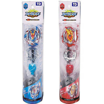 2PS Beyblade BURST B-105 Achilles & B-104 Starter Winning Valkyrie Fight w/ Toy