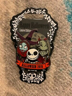 Disney Parks 2018 Halloween Day Nightmare Before Christmas Pin Le 4000 Pre Sale