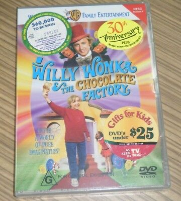 New Sealed DVD - Willy Wonka & The Chocolate Factory
