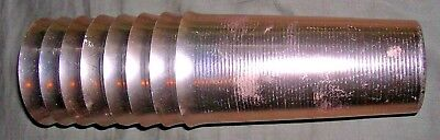 Rare Vintage 1950s Made in West Bend, Aluminum Cups Tumblers, LOT of 8