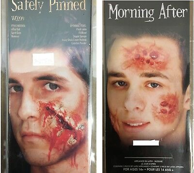 Halloween Modeling 3D Fake Scar Wound Injury Effect Makeup Latex
