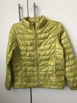 UNIQLO KIDS Puffy Jacket Down Padded Light Girls Jacket Size 150