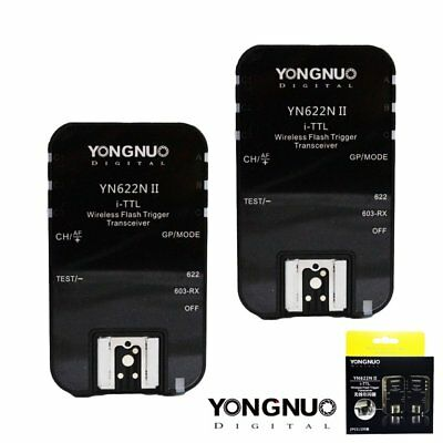 Yongnuo YN-622N II Wireless TTL Flash Trigger for YN560-TX Nikon D800E D800 US