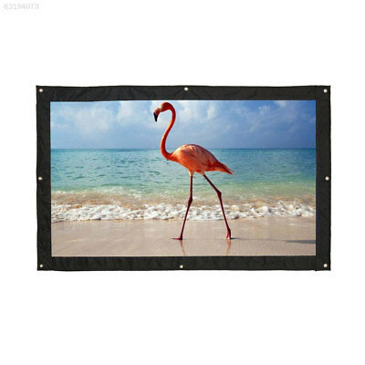 F8EF 16:9 HD Projector Curtain Projection Screen Lobbies Office Home Cinema