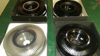 Lot of 4 Vintage Slide Projector Carousel Trays 2 140, 2 80, 3 Kodak 1 Airequipt