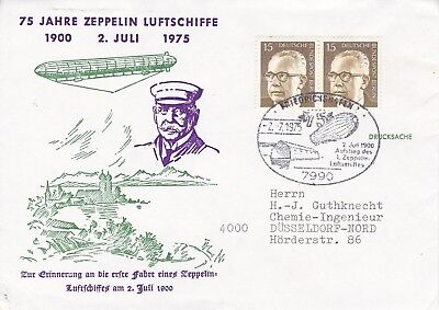 CC185) 1975 75 Years Zeppelin Airships CONCORDE