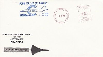 CC201) 1975 4 All That Travels-Intl. Transport Jet Cargo/Trips CHARPIOT CONCORDE