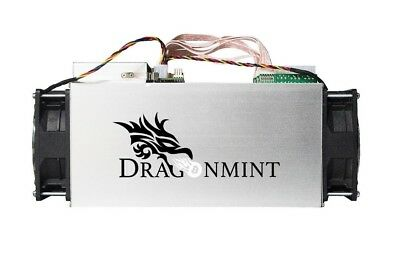 Halong Dragonmint T1 bitcoin miner Antminer S9 rival. Free Power Supply