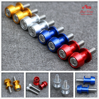 Swing Arm Sliders Spools Stand Bobbins Starting Frame Screw for Ducati BMW moto