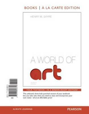 A World of Art, Books a la Carte Edition by Sayre, Henry M.