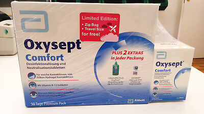 Oxysept Comfort 90 Tage Premium Pack (3 x 300ml) ~Limited Edition~ Peroxidsystem