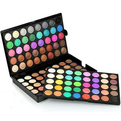 NEW 120 Colors Eye Shadow Cosmetic Makeup Shimmer Matte Eyeshadow Palette Set