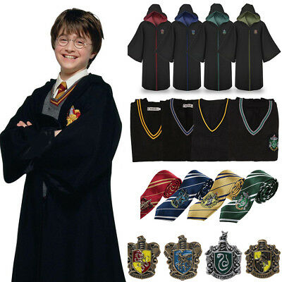 Harry Potter Hogwarts 4 Sorting Cosplay Costume Accessory Halloween Xmas Lot ES