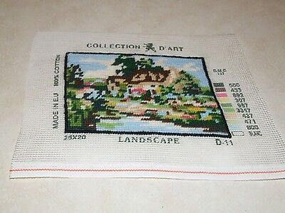 Completed Tapestry - Collection D'Art - Landscape