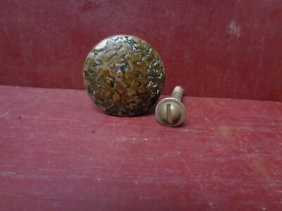 1 Antique Heavy Cast Iron Shutter Cabinet Drawer Door Pull Knob More Avail #5