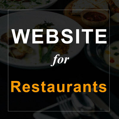Restaurant Website w/ Self Manage Online Menu + Booking System, 3 DAYS