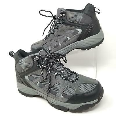 84e7b90ce72 KHOMBU MENS HIKING Boots Outdoor Tyler Tactical Shoes Black Gray Size 10