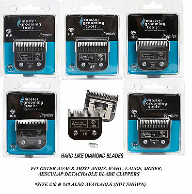MASTER GROOMING HLD(Hard Like Diamond)A5 Blade Fit Most Andis,Oster,Wahl Clipper