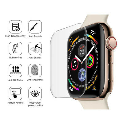 2 X Tempered Glass Screen Protector For Apple Watch Series 4 (44MM)
