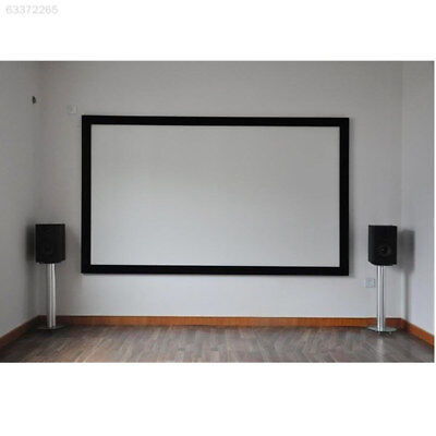 C22D HD 84 Inch Projector Curtain Projection Screen School Outdoor Business