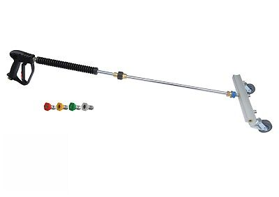 """Gun/Lance 4 Nozzle Water Broom Cleaning Attachment 12"""" Size 05 + Nozzles"""