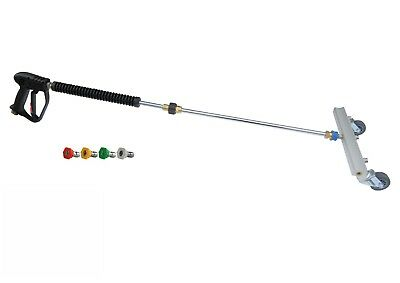 """Gun/Lance 4 Nozzle Water Broom Cleaning Attachment 12"""" Size 04 + Nozzles"""