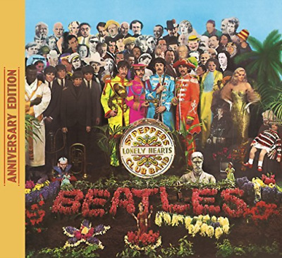 Beatles-Sgt Pepper`s Lonely Hearts Club Band (Aniv) (Uk Import) Cd New