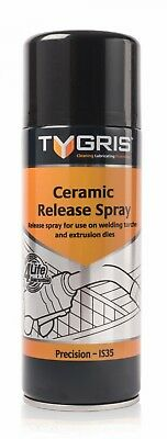 Tygris IS35 400ml boron nitride ceramic release spray Glass, Moulds & Welding