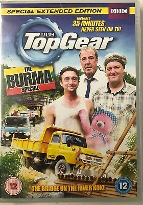 Top Gear: The Burma Special - Director's Cut(DVD) BBC Jeremy Clarkson New/Sealed