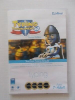 - Typing Tournament V2 Home Edition [Cd-Rom] Win/mac [Brand New] 7-Adult