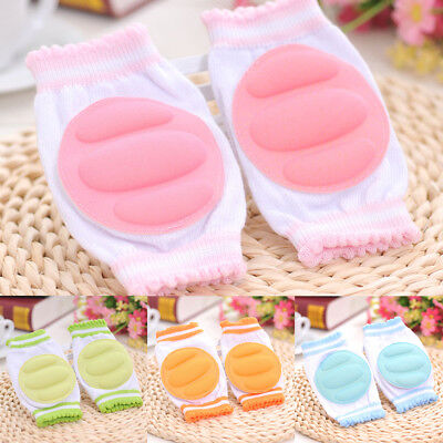 KF_ Infant Toddler Baby Safety Crawling Elbow Cushion Pad Knee Pads Protectors