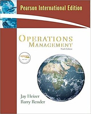 Operations Management by Heizer, Jay  Render, Barry Barry Render